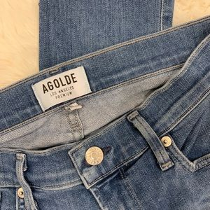 Agolde Jeans - Agolde Sophie High Rise Skinny in Cannes - Size 26